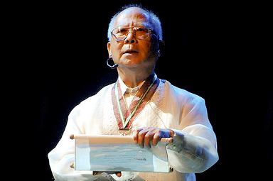 National Artist for Literature Bienvenido Lumbera (Photo courtesy of lumbera.ph)