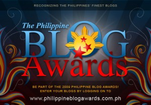 Grabbed from the Philippine Blog Awards website