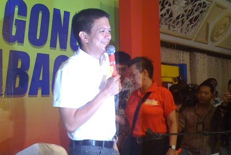 Sen. Escudero announces resignation from NPC (Photo courtesy of Yahoo PH)