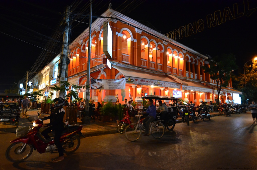 Nigh time at Siem Reap, Cambodia. (Photo from Wikipedia/Wikimedia)