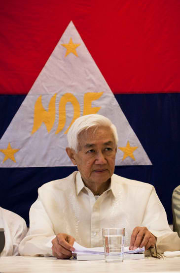A former Catholic priest and a scion of a rich family, Luis Jalandoni joined the underground movement. He is the soft-spoken chief negotiator of the NDFP. (Photo from ndfp.net)