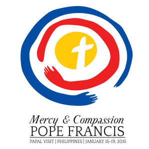 Official logo of Pope Francis' 2015 visit to the Philippines