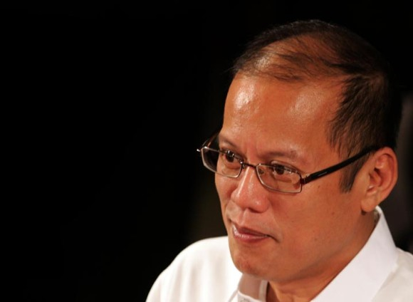 President BS Aquino. Photo from Manila Bulletin.