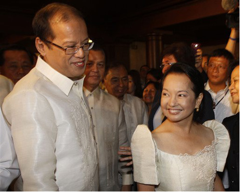 Presidents: BS Aquino and Gloria Macapagal Arroyo