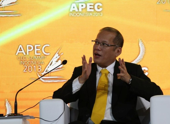 President BS Aquino at an APEC event. Photo by Ryan Lim/Malacanang Photo Bureau.