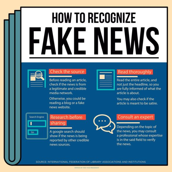 """Bias against blogs: OVP infographic on """"fake news ..."""